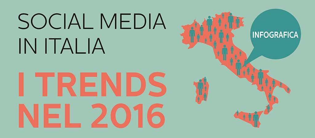 Social Media in Italia: i trends nel 2016