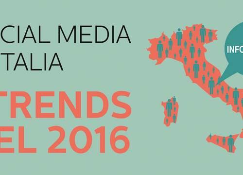 Social Media in Italy: 2016 trends