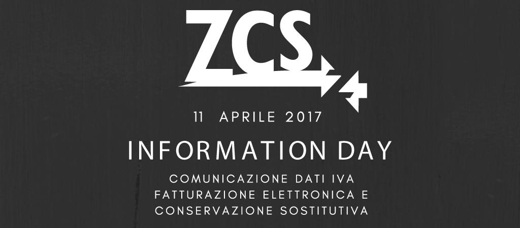ZCS Information Day: evento informativo su Cadi, Fatel e Conservazione Sostitutiva