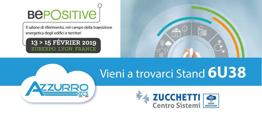 ZCS Azzurro al BePositive di Lione dal 12 al 15 Febbraio