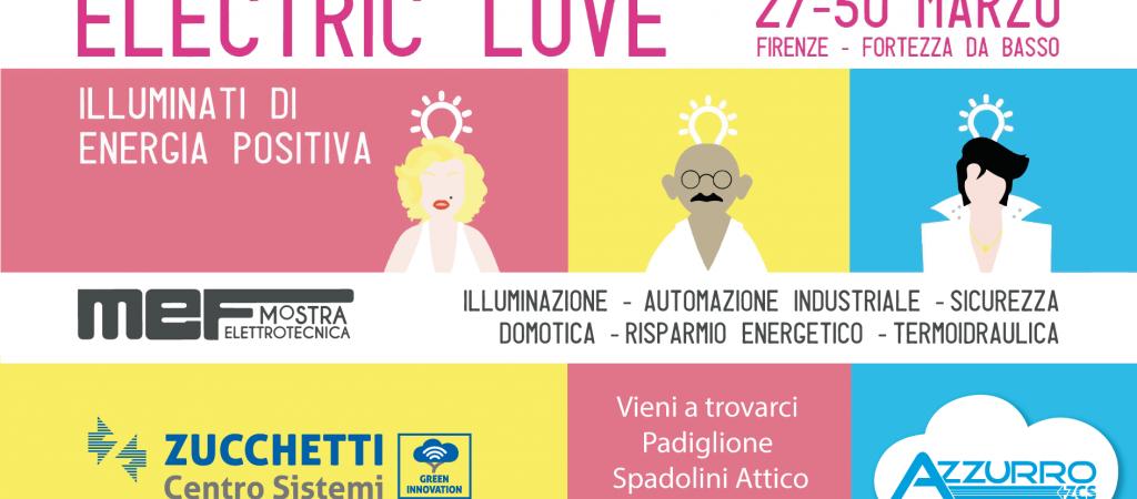 ZCS Azzurro all'Electric Love di Firenze
