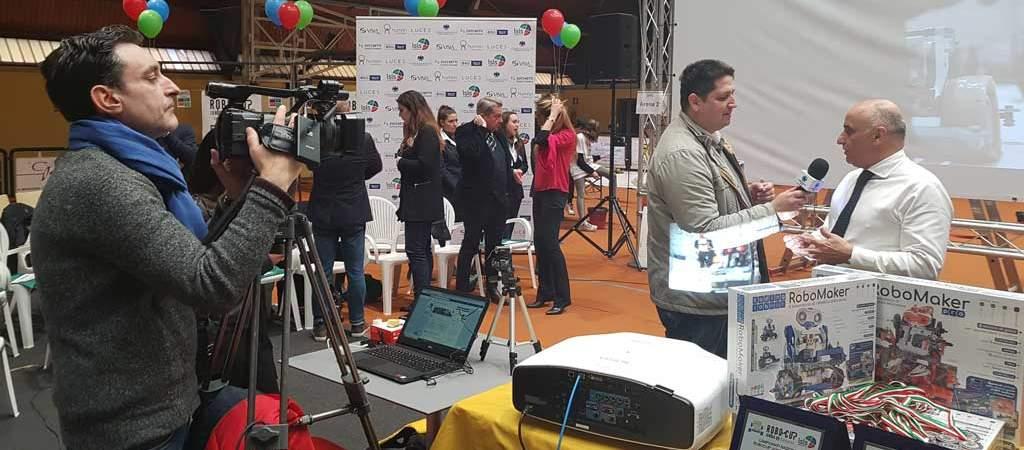 Zucchetti Centro Sistemi sponsor della Robocup Junior Accademy 2019
