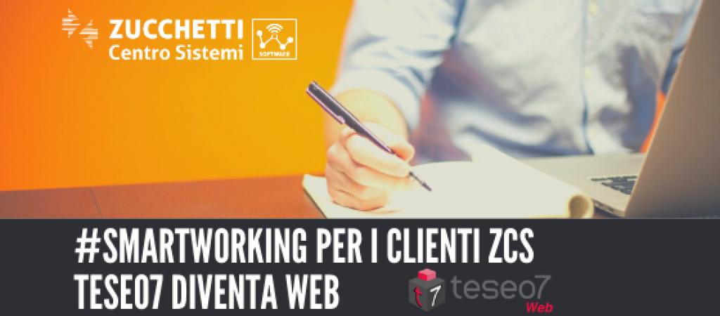 ZCS accanto ai propri Clienti, nel momento più importante – Rilascio gratuito di Teseo7 Web