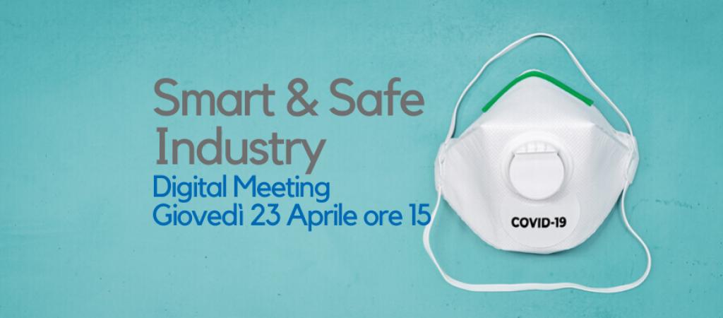 Digital Meeting Giovedì 23 Aprile- Le Aziende ripartono dalla Sicurezza Intelligente