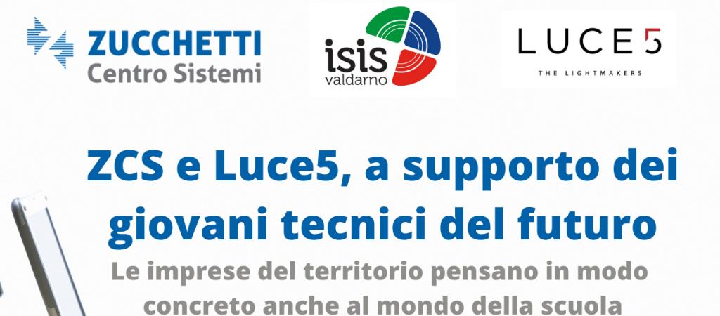 ZCS e Luce5, a supporto dei giovani tecnici del futuro