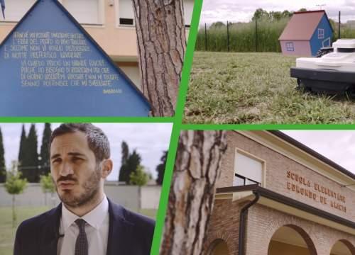 The Cesena Municipality chose Ambrogio Robot for the S.Giorgio School park