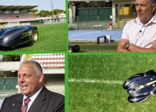 The Grosseto Municipality chose Ambrogio L400 for the Zucchini Stadium lawn