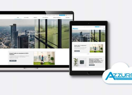 The new ZCS Azzurro website is online