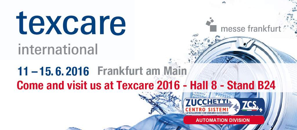 ZCS ti aspetta a Texcare International 2016