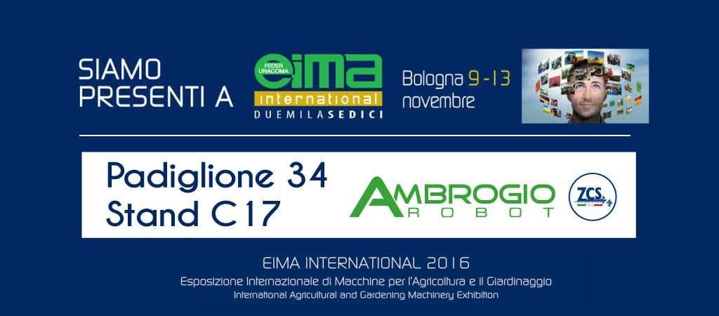 ZCS at EIMA International 2016